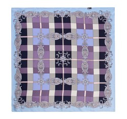 Women's neckerchief, violet, 86-7D-S11-X11, Photo 1