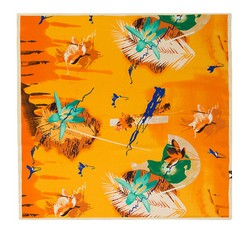 Women's neckerchief, orange, 86-7D-S12-X11, Photo 1
