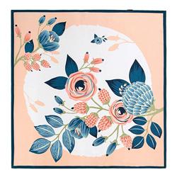 Apaszka damska, różowo - niebieski, 86-7D-S13-X15, Zdjęcie 1