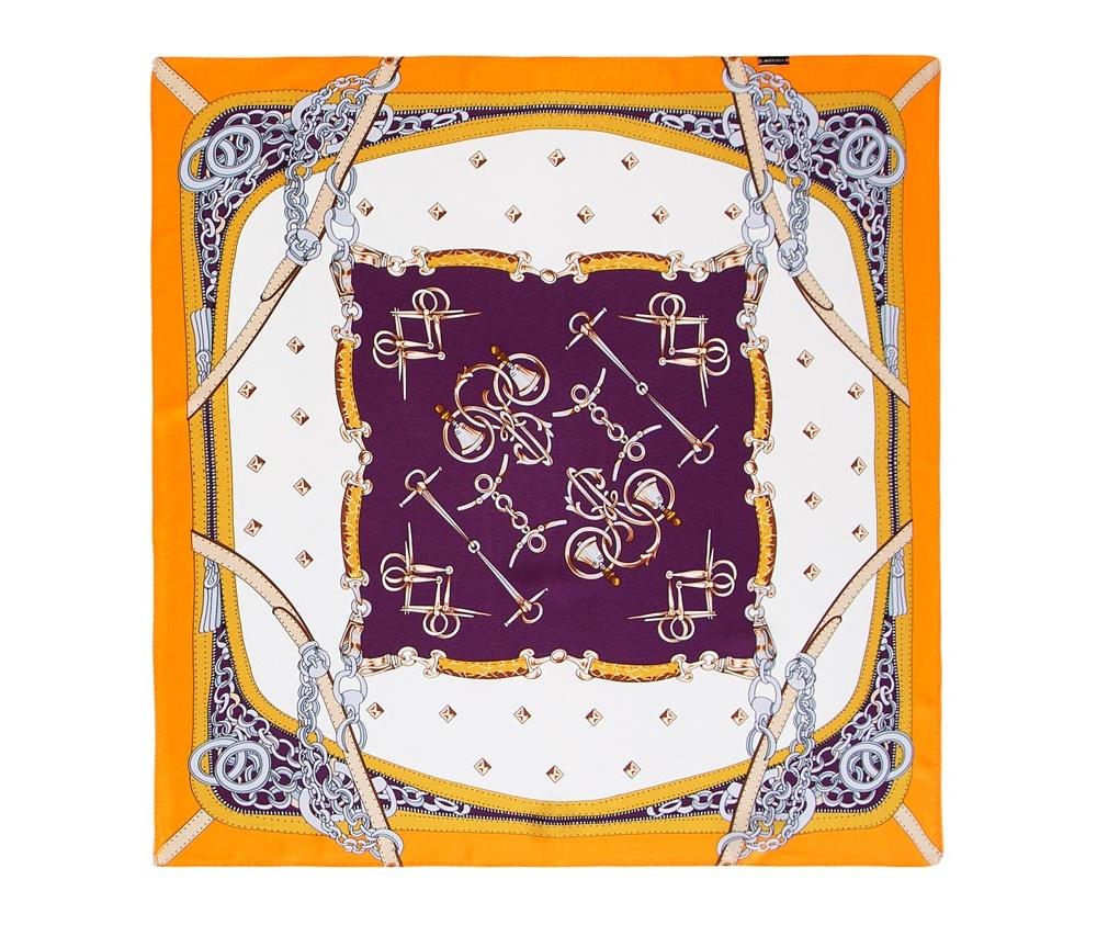 Платок женский Wittchen 86-7D-S13-X5, оранжевый