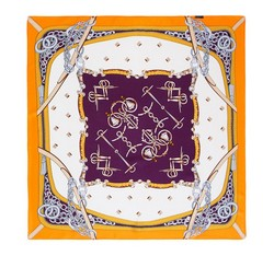 Women's neckerchief, orange-violet, 86-7D-S13-X5, Photo 1