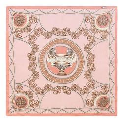 Apaszka damska, różowo - złoty, 87-7D-S14-X9, Zdjęcie 1