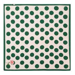 Apaszka damska, zielono - biały, 88-7D-S14-X10, Zdjęcie 1