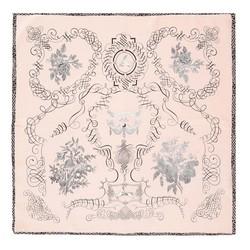 Apaszka damska, różowo - czarny, 88-7D-S14-X12, Zdjęcie 1