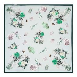 Apaszka damska, zielony, 89-7D-S14-X12, Zdjęcie 1
