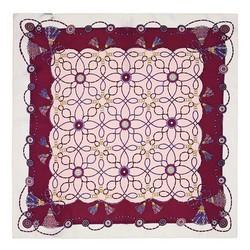 Women's neckerchief, pink-violet, 89-7D-S14-X16, Photo 1