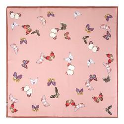 Women's neckerchief, pink, 89-7D-S14-X21, Photo 1