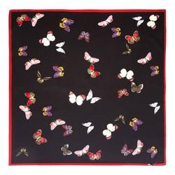 Women's neckerchief, black-red, 89-7D-S14-X23, Photo 1