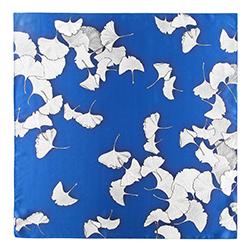 Apaszka damska, niebiesko - szary, 90-7D-S14-X7, Zdjęcie 1
