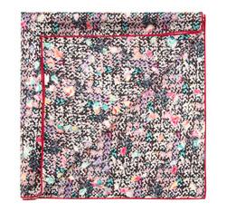 Apaszka damska, różowo - czarny, 85-7D-S11-X13, Zdjęcie 1