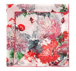 Apaszka damska, czerwono - biały, 85-7D-S11-X14, Zdjęcie 1