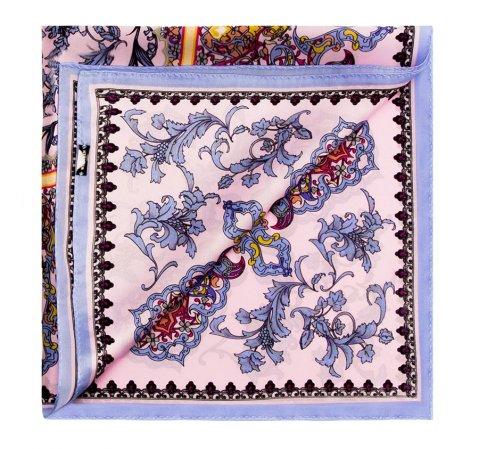 Apaszka damska, fioletowy, 85-7D-S12-X6, Zdjęcie 1