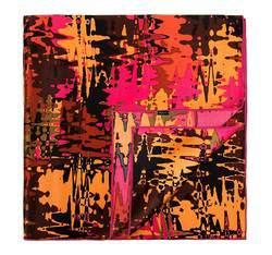 Apaszka damska, pomarańczowy, 81-7D-S11-X20, Zdjęcie 1