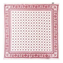 Apaszka z jedwabiu, różowo - brązowy, 93-7D-S01-10, Zdjęcie 1