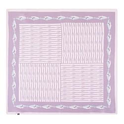 Apaszka z jedwabiu, jasny fiolet, 93-7D-S01-31, Zdjęcie 1
