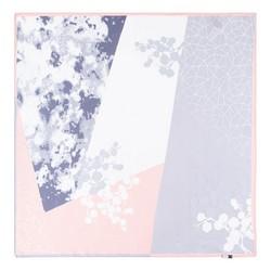 Apaszka z jedwabiu, łososiowy, 93-7D-S01-5, Zdjęcie 1