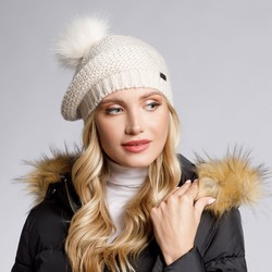 Hat, off white, 93-HF-005-0, Photo 1