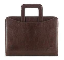 Large document case, dark brown, 29-3-118-4, Photo 1