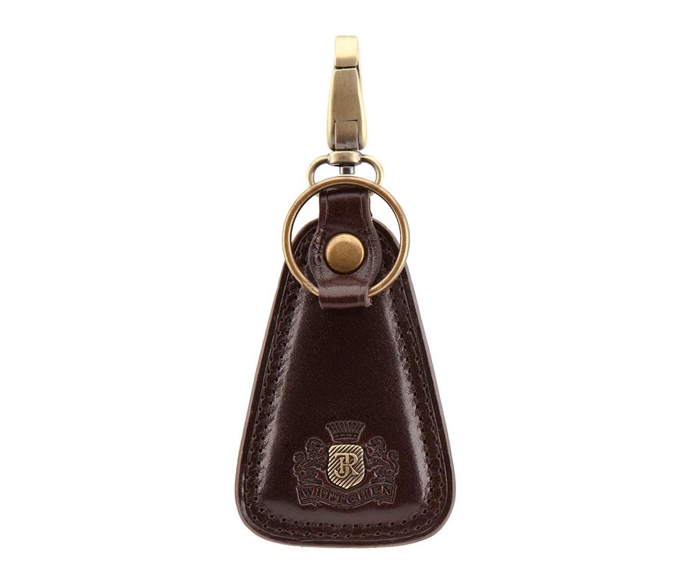 Брелок Wittchen 39-2-102-3, коричневыйРазмеры: 50 x 80 мм<br><br>секс: унисекс<br>Цвет: коричневый<br>материал:: натуральная кожа<br>высота (см):: 8<br>ширина (см):: 5