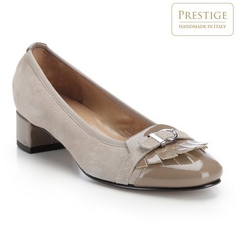 Buty damskie, jasny beż, 82-D-154-8-37, Zdjęcie 1