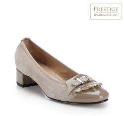 Buty damskie, jasny beż, 82-D-154-8-38, Zdjęcie 1
