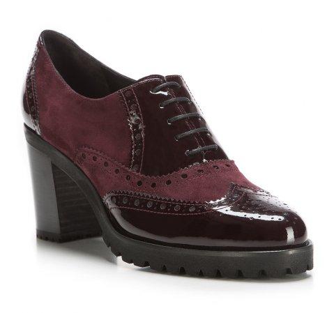 Buty damskie, wiśniowy, 85-D-100-2-35, Zdjęcie 1