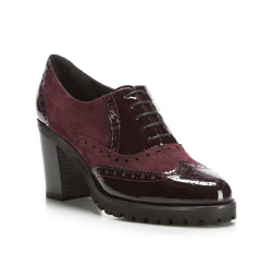 Buty damskie, wiśniowy, 85-D-100-2-39_5, Zdjęcie 1