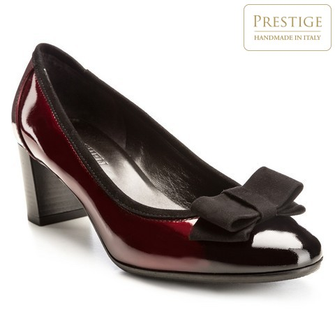 Buty damskie, wiśniowy, 85-D-101-2-35, Zdjęcie 1