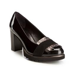 Buty damskie, czarny, 85-D-106-1-38_5, Zdjęcie 1
