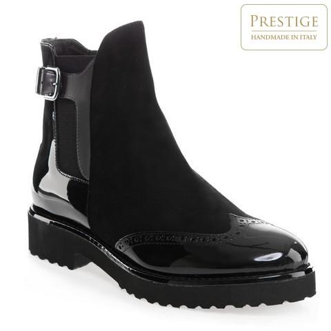 Buty damskie, czarny, 85-D-107-1-35, Zdjęcie 1