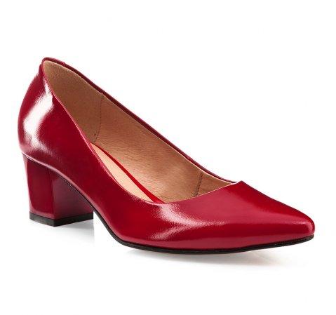 Buty damskie, czerwony, 85-D-200-3-35, Zdjęcie 1