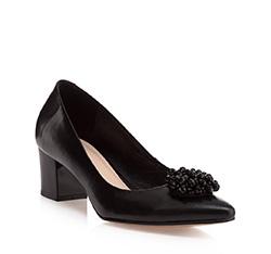 Buty damskie, czarny, 85-D-202-1-37, Zdjęcie 1