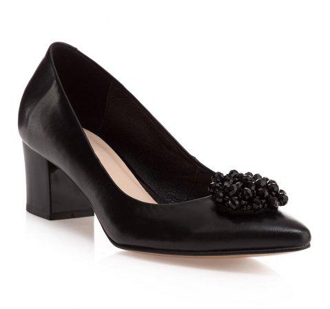 Buty damskie, czarny, 85-D-202-1-41, Zdjęcie 1