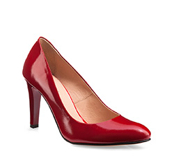 Buty damskie, czerwony, 85-D-204-3-38, Zdjęcie 1