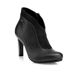 Buty damskie, czarny, 85-D-207-1-35, Zdjęcie 1