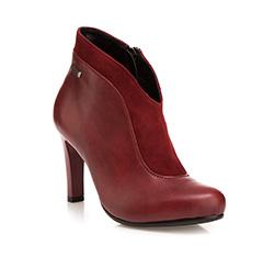 Buty damskie, bordowy, 85-D-207-2-41, Zdjęcie 1