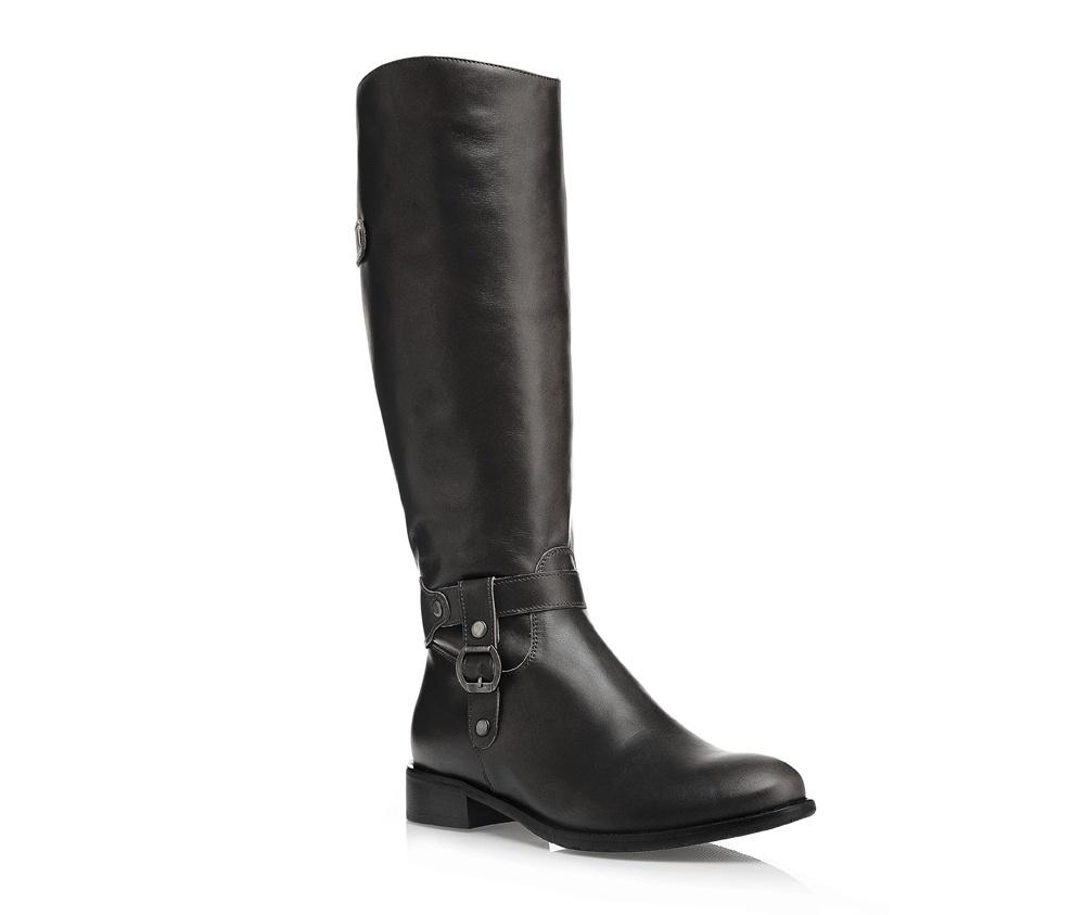Обувь женскаяОбувь женская<br><br>секс: женщина<br>Цвет: черный<br>Размер EU: 35<br>материал:: Натуральная кожа<br>примерная высота каблука (см):: 3,5