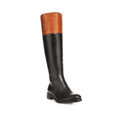 Buty damskie, czarny, 85-D-211-1-38, Zdjęcie 1