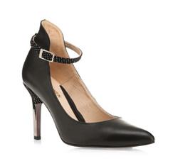 Buty damskie, czarny, 85-D-250-1-39, Zdjęcie 1