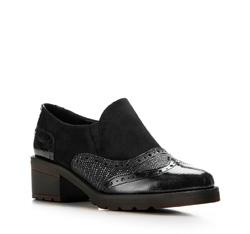 Buty damskie, czarny, 85-D-301-1-38, Zdjęcie 1
