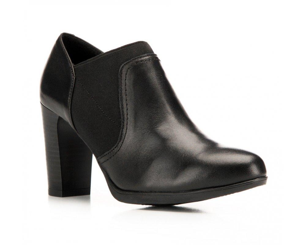 Обувь женскаяЖенские ботинки выполнены по технологии \hand made\ из лучшей итальянской кожи наивысшего качества. Подошва полностью сделана из качественного синтетического материала.<br><br>секс: женщина<br>Цвет: черный<br>Размер EU: 36<br>материал:: Натуральная кожа<br>примерная высота каблука (см):: 8