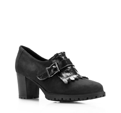 Buty damskie, czarny, 85-D-306-1-37, Zdjęcie 1