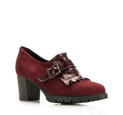 Buty damskie, wiśniowy, 85-D-306-2-35, Zdjęcie 1