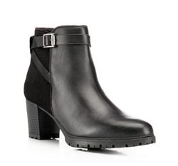 Buty damskie, czarny, 85-D-307-1-37, Zdjęcie 1