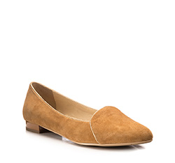 Women's shoes, light brown, 85-D-501-5-38, Photo 1
