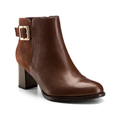 Buty damskie, brązowy, 85-D-509-5-37, Zdjęcie 1