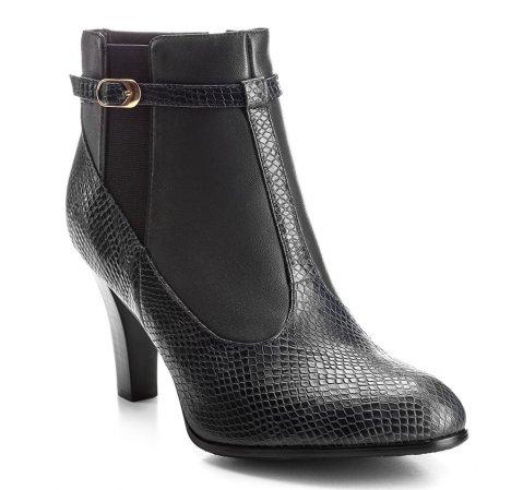 Buty damskie, czarny, 85-D-510-1-35, Zdjęcie 1