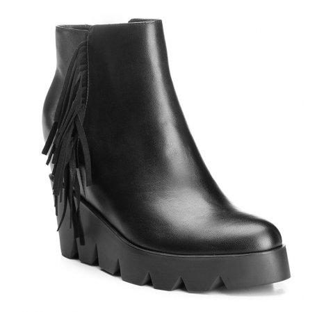 Buty damskie, czarny, 85-D-511-1-35, Zdjęcie 1