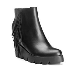 Buty damskie, czarny, 85-D-511-1-37, Zdjęcie 1
