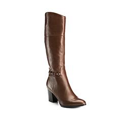 Buty damskie, brązowy, 85-D-512-4-35, Zdjęcie 1